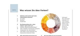 GEO Campus: Was wissen Sie über Farben?