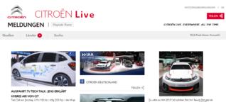 Social Communication mit Aggregation: Mercedes-Benz und Citroën