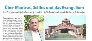 Über Mantras, Selfies und das Evangelium