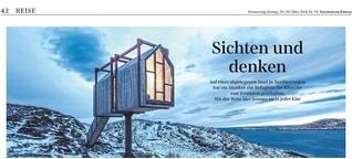 Raum für tiefere Studien: Künstlerbauten in Nordnorwegen