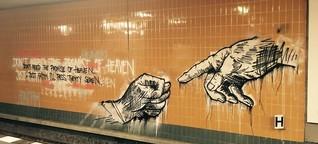 Streetart in Berlin: Dreist kommt durch