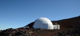 Stressfrei auf dem Mars – In einem Simulator auf Hawaii testen die NASA und ihre Partner, wie sich bei einer Marsmission Stress und Konflikte managen lassen