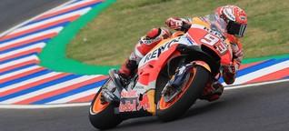 MotoGP Argentinien FP2: Marquez Schnellster, Dovi weit zurück