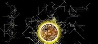 Springquelle der Bitcoins