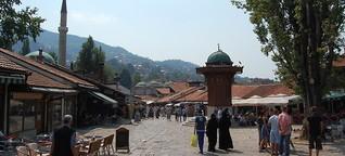 Sarajevo: Tunnelblick