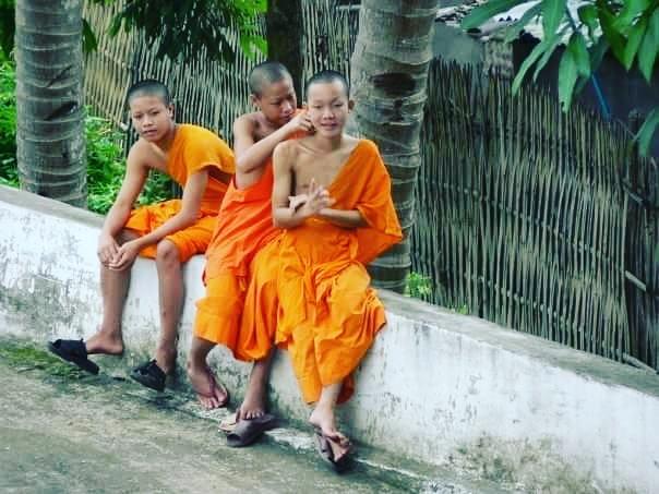 Young Buddhist Monks, Luang Prabang, Laos