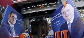 Libanon - Wählen mit Glaubens-Quote