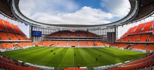 Deutsche Firmen bei der Russland-WM: Wichtig ist unterm Platz