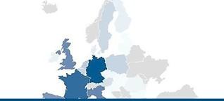 Interaktive Grafik: Wer was in das EU-Budget einzahlt