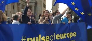"""""""Pulse of Europe"""" - schlägt er noch?"""