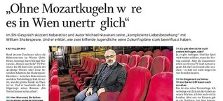 """""""Ohne Mozartkugeln wäre es in Wien unerträglich"""""""