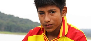 Meet the brave boy that the World Cup ignored
