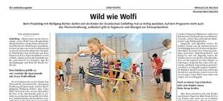 Wild wie Wolfi