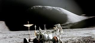 Die grosse Apokalypse auf dem Mond zog sich hin