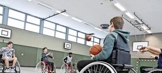 Rollstuhlbasketball-AG