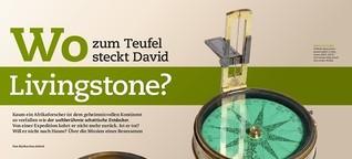 P.M. History: Wo zum Teufel steckt David Livingstone?