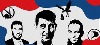 War da was? Ja, Wahlen in deinem Nachbarland Tschechien