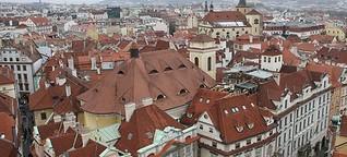 Theo in Prag: Das Erasmus-Ding