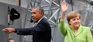 """Barack Obama in Berlin: """"Die Weltordnung befindet sich am Scheideweg"""""""