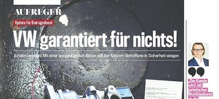 Dieselskandal: VW lässt seine Kunden mit technischen Problemen allein
