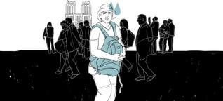 Was mir das Herz bricht: Verängstigte Touristen
