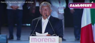 Spannung vor Schicksalswahl in Mexiko