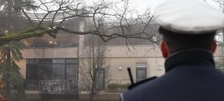 «Schnapsidee» - Angeklagte gestehen Brandstiftung in Herxheim