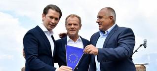 Österreichs Kanzler Kurz in der Vermittlerrolle