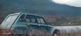 Citroën Dyane - Mondlandung einer Französin