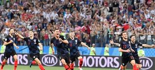 Fußball-WM 2018: Kroatien gewinnt Fehlschuss-Krimi gegen Dänemark