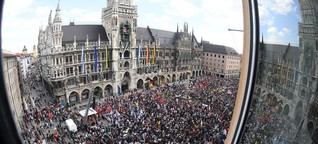 Riesige PAG-Demo im Ticker: Das bereitete der Polizei besondere Sorgen