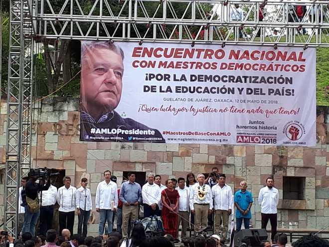 AMLO - Mexikos neuer Präsident