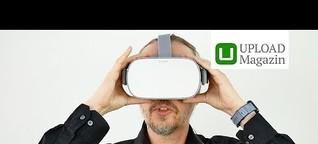 Oculus Go: Unboxing und erste Einrichtung (Deutsch)