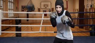 """Im Interview: die Boxerin Zeina Nassar: """"Boxen Iehrt Respekt und Disziplin"""""""