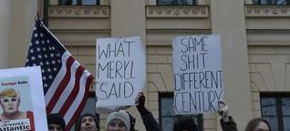 München demonstriert gegen Trump