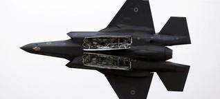 Die F-35: Fliegende Warnung Richtung Iran