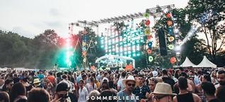 Einhörner, Konfetti und Beats: Sommerliebe 2018