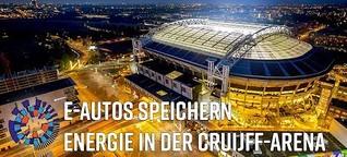 Europas größter Energiespeicher in der Cruijff-Arena