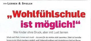 """""""Wohlfühlschule ist möglich"""""""