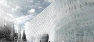 Fassade aus dem 3D-Drucker - Wie Architekten mit additiven Verfahren bauen