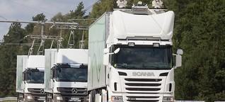 Zukunft des Gütertransports - Wie die Bahn nur auf Asphalt