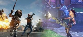 PUBG vs. Fortnite: Fans erklären euch, warum ihr Spiel das bessere ist