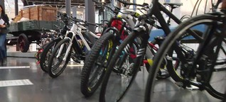 Deutsches Museum: Fahrrad-Trends mit Wigald Boning