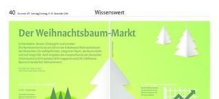Der Weihnachtsbaummarkt