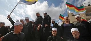 Israels Drusen protestieren gegen Nationalstaatsgesetz