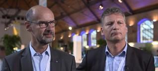 """Interview mit Hans Schramm und Thomas Meinel auf der Expo Tour 2016 zu """"All-Flash und Storage"""""""