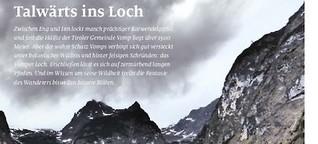 Vomper Loch: Ein Tal mit eigenartiger Magie