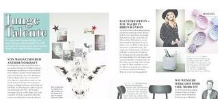 Magazin COSY (1/18) - Rubrik: Junge Talente