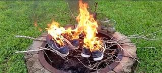 Nike-Proteste: Warum Amerikaner ihre Schuhe verbrennen
