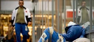 """Knöllchen für Obdachlose: """"Das ist unmenschlich"""""""